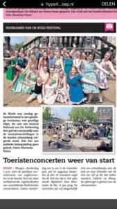 Succesvolle Promotieoptredens Petticoat de Musical